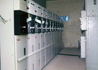 Pekerjaan instalasi listrik Proses penarikan kabel tanah 20 KV, dan proses pemasangan cubicle