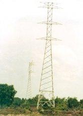Pekerjaan instalasi listrik, Proses erection tower 150 KV & Pekerjaan instalasi gardu induk Wonosobo