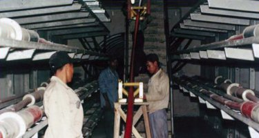 Pekerjaan instalasi listrik & Proses penarikan kabel tanah 150 KV