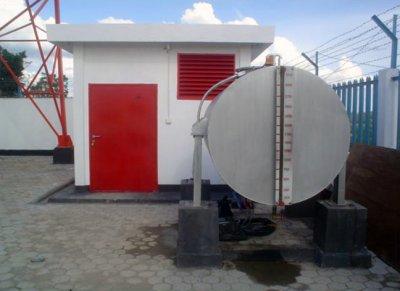 Pekerjaan pembuatan power house, & instalasi Diesel Engine 20 KVA