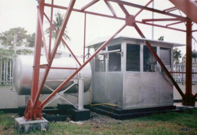 Pekerjaan pembuatan & pemasangan shelter, & instalasi Diesel Engine 20 KVA